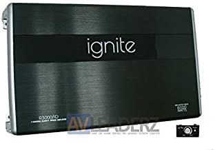 Ignite Audio R3000/1D, Class D Mono Block Car Amplifier – 6000 Watts Peak Power