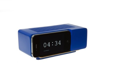Areaware Alarm Dock Docking Station iPhone 4/4S blauw