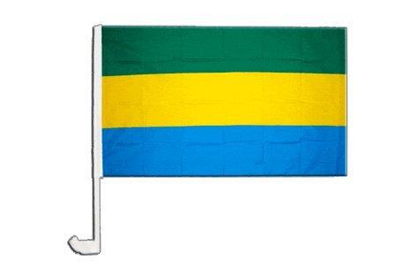 Drapeau de voiture Gabon - 30 x 40 cm