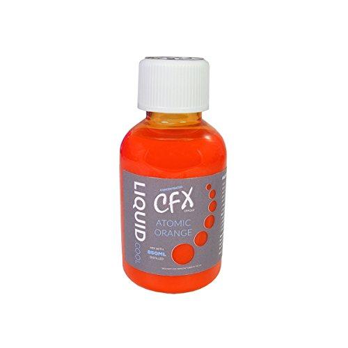 Liquid Cool 150ml CFX konzentriertes undurchsichtiges Performance-Kühlmittel orange Atomic Orange 150 ml