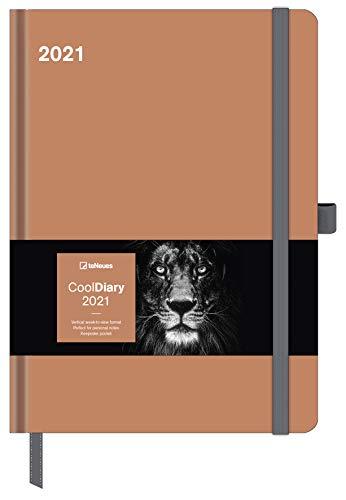 Caramel 2021 - Diary - Buchkalender - Taschenkalender - 16x22: Cool Diary