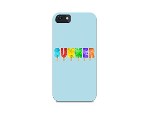 iPhone 5C TPU Plastic Case - Summer - Quotes - Fun Quotes - This Summer - Cute - The Summers - Popsicle - Popsicles