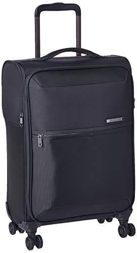 Samsonite 72h DLX Nylon 55 cms Black Softsided Cabin Luggage (72H DLX SP55/20-BLACK)