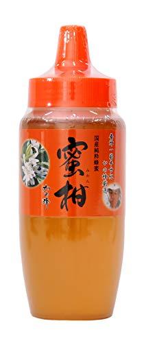 はちみつ 専門店【かの蜂】 国産 みかん 蜂蜜 500g 完熟 の 純粋 蜂蜜 (とんがり容器)