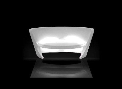 Canapé Lumineux RAP-SLIDE BLANC - SLIDE design