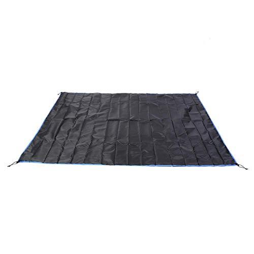 DAUERHAFT Campingdecke Polyester + TPU-Beschichtung Feuchtigkeitsbeständiges Pad zur Verwendung als Sonnenschutz/Regenschutz