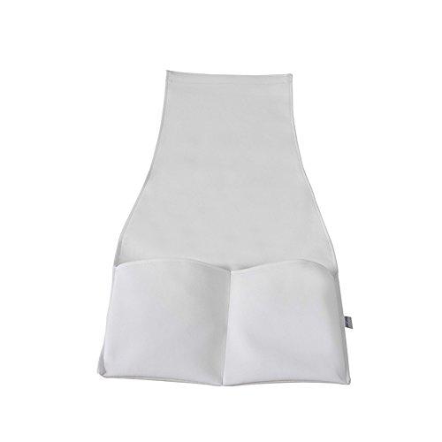 Micuna Bolsa Lateral para Sofá de Amamentação Polipele Branco