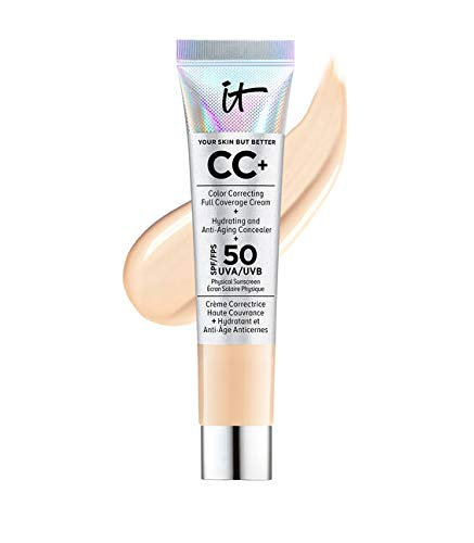 IT Cosmetics Your Skin But Better CC+ Cream with SPF 50+ (12ml Mini, Light)