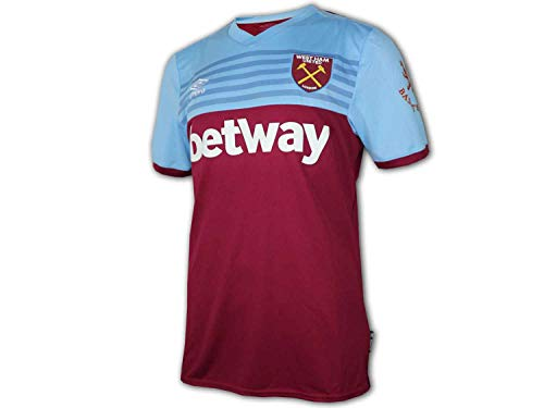 Umbro Herren West Ham Home Jersey S/S Trikot L Kit