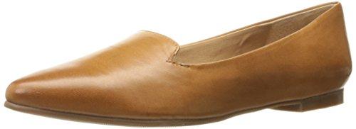 Trotters Women's Harlowe Luggage Ballet Flat 7.5 N