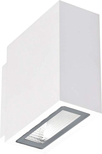 Brumberg Leuchten LED-Wandleuchte IP54 10013173 2x3W 230V strukturw. Black+White Decken-/Wandleuchte 4250047766292