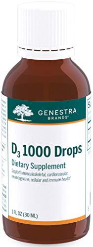 Genestra Brands - D3 1000 Drops - Liquid Vitamin D...