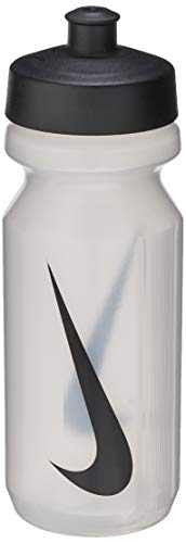 Nike Trinkflasche 9341/2 Big Mouth Water Bottle 650 ml, clear/black, 0, N.OB.17.311.OS