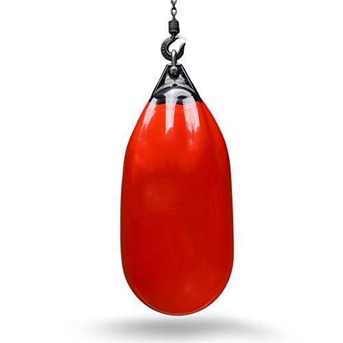 BZLLW Saco de Boxeo, Bolsas de perforación Pesadas, Bolsa de Agua, 100 LB, Rojo