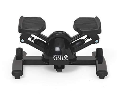 【Amazon限定ブランド】オアシス+ING(オアシスプラスアイエヌジー) ツイストステッパー Premium Black(プレミアムブラック)SP-401 SP-401 ブラック