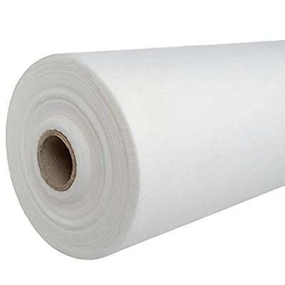 """[50% THICKER] Massage Table Paper Roll (Pack of 1) 31.5"""" x 328' Disposable Massage Bed Sheets - Non Woven Massage Table Cover Sheets for Facial Bed, Tattoo Bedsheets, Spa Waxing Bed- Massage Bed Paper"""