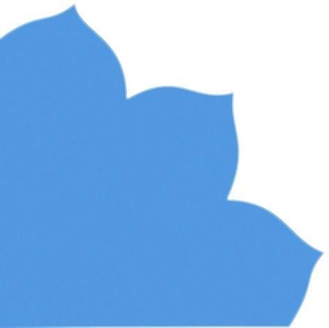 Preisvergleich Produktbild Japanserviette 35x35 blau