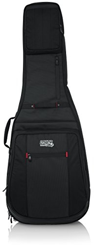 Gator Cases Pro-Go Ultimate Guitar Gig Bag; Fits 335 Semi Hollow or Flying V Style Guitars (G-PG-335V)