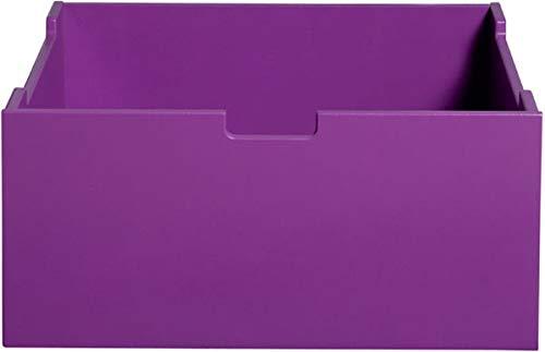 Bopita Kiste F. Mix & Match Möbelserie Spielzeugkiste Holz Purple Ausbewahrungsbox