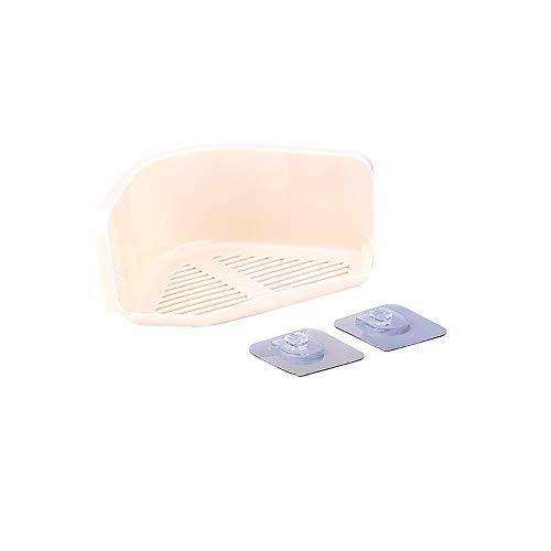 Carro de cocina Organizador de ducha adhesiva Estante para baño Caddy Estante de almacenamiento de cocina — Pared de acero inoxidable Sin perforaciones Estante de almacenamiento — Bolsa de almacenamie