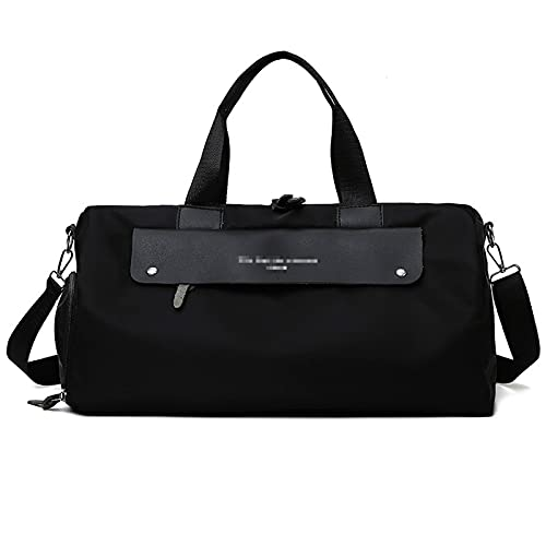 ATRNA Duffle Bag for Sports, Gym, Overnight and Weekend Getaway Dufflebag with Shoe and Wet Clothes Compartments Carry on Gymbag