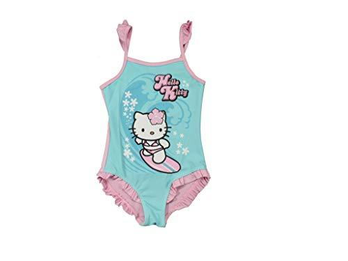 Hello Kitty Kinder Badeanzug Badeanzug - Blau, 122