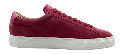 Zespà Damen Sneaker ZSP4 HGH Suede Magenta Beere - 39,5