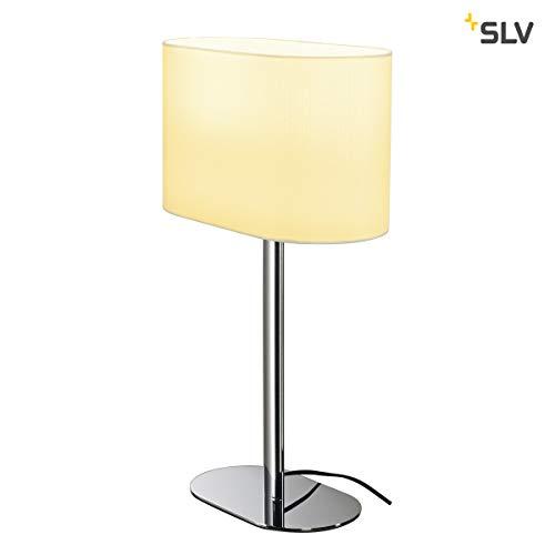 SOPRANA OVAL TL-1, lampe à poser, diffuseur blanc, E27, max. 60W