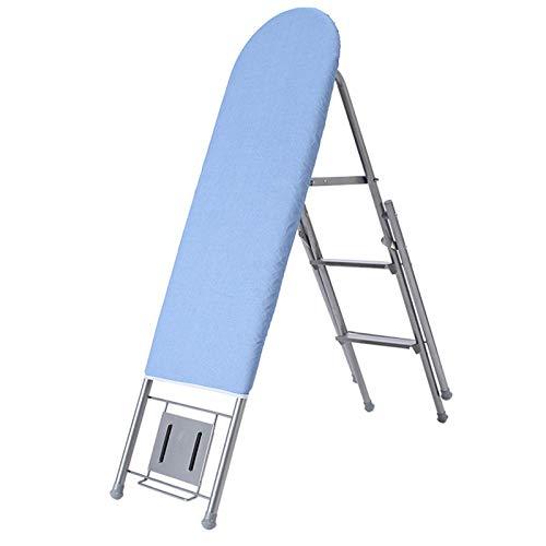 Plancha para Planchar Tablero de Planchado Plegable Hogar Grande de Acero Percha...