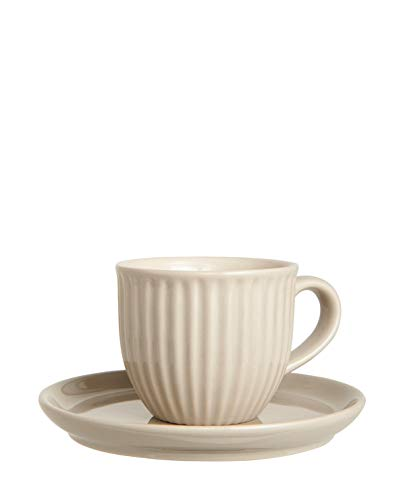 Ib Laursen Mynte Tasse & Unterteller latte