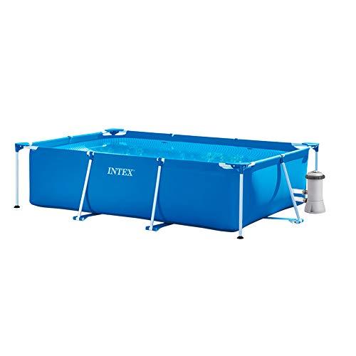 INTEX Pack Piscina Small Frame 260x160x65 cm 2282 litros + D
