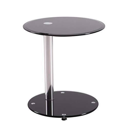 Gehard glas Ronde Side Table bijzettafel Balkon Snack Table Accent Table