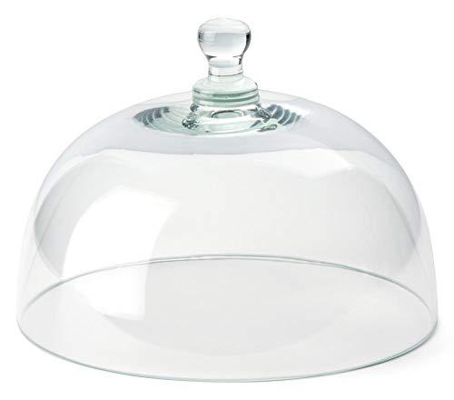 Continenta Käseglocke, Glasglocke, einzeln, passend zu CTA3047, Größe: Ø 26 cm