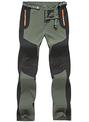 TBMPOY Men's Water Resistant Camping Hunting Tactical Pants Fishing...