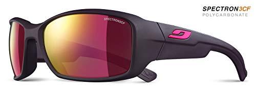 Julbo Whoops–Gafas de Sol para Mujer, Color Berenjena Oscuro/enjos Rosa