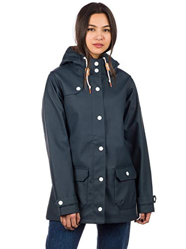derbe Hamburg Peninsula Lightly Damen Regenjacke, Deutsche Größen:44, Hamburg :Navy/Grey