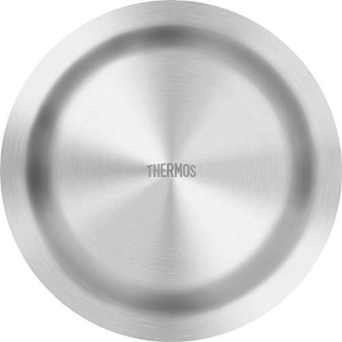 サーモス アウトドアシリーズ 皿 真空断熱ステンレス深型プレート 21cm ROT-002 S