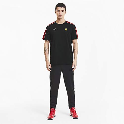 PUMA Scuderia Ferrari Race T7 Herren-T-Shirt, Herren, Scuderia Ferrari Race T7, T-Shirt, Puma Black, Small