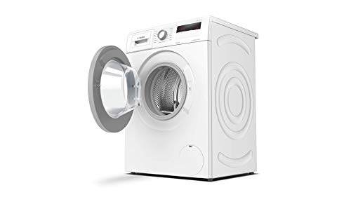 Bosch WAN281KA2 Serie 4 Waschmaschine Frontlader / D / 69 kWh/100 Waschzyklen / 1388 UpM / 7 kg / Weiß / AllergiePlus / ActiveWater™ Mengenautomatik