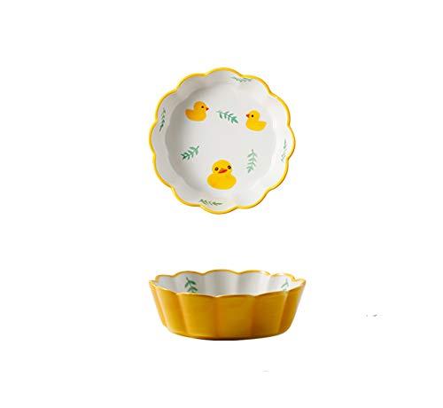 WXXT Ramequin Four,Ramequin,ramequins pour Four,Bol à pouding Soufflé Bol de Cuisson en céramique Petit Bol Bol à Salade Bol à céréales Bol Petit déjeuner Bol de Riz cuit au Four