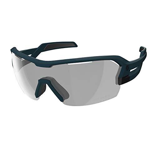 Scott Spur LS Fahrrad Wechselscheiben Brille blau matt Light Sensitive