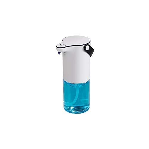 LHTCZZB Dispensador de jabón de espuma de espuma de espuma de telefonía móvil de lavado de teléfono móvil suspendido Material ABS adecuado para encimeras de cocina y dispensadores de jabón de baño (bl