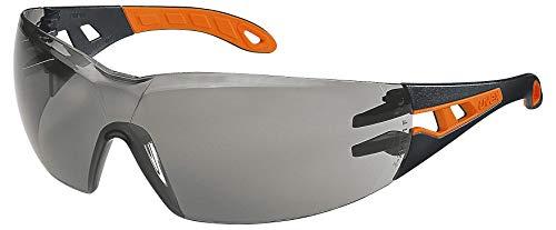 Uvex Pheos Gafas Protectoras - Seguridad Trabajo - Lentes Oscuros Anti-rayaduras y Anti-vaho