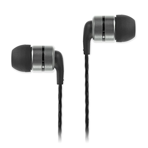 SoundMAGIC E80 High Fidelity Kopfhörer Smartphone Earbuds In Ear Kopfhörer Hochwertige Ohrhörer mit Noise Reduction - Gunmetal