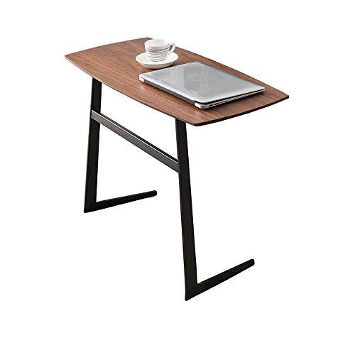 Sdesign Altura de la mesa del ordenador portátil, ordenador portátil móvil soporte de mesa de café mesa lateral, Bandeja portátil portátil de escritorio for sofá, cama, Balcón, Jardín (Color: el color