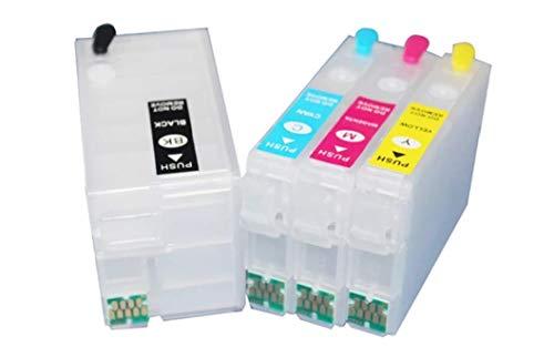 ECO INK 27XL cartucce ricaricabili per WF-7610 WF-3620 WF-3640 WF-7110 WF-7715 WF-7720 WF-7210 WF-7710 WF-7620
