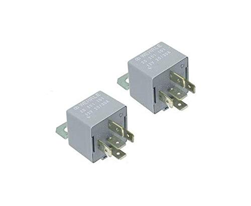 for Porche 944 95 968 Sunroof Relay Set of 2 WEHRLE 4395253 D/9996570690 43 95 253 D / 999 657 06 90