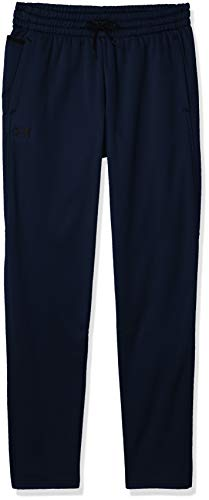 Under Armour Men's Armour Fleece Pants , Academy Blue (408)/Black , 4X-Large Tall