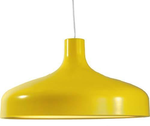 Aluminor STATION S AY - Lámpara de techo (E27, metal), color amarillo
