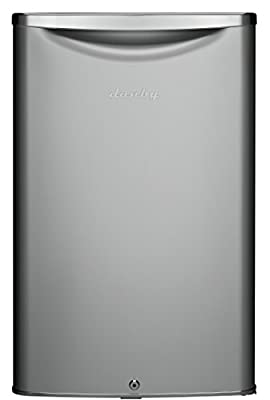 Danby DAR044A6DDB 4.4 cu.ft. Contemporary Classic Compact All Refrigerator, Iridium Silver Steel